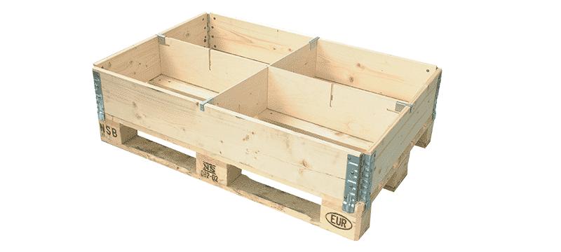耐帆实木板循环箱-logpak
